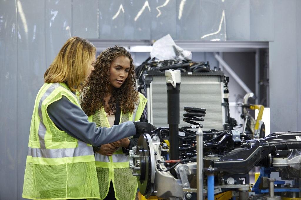 Female mechanical engineers