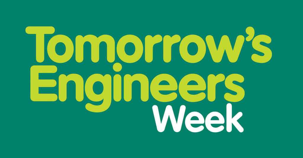 Tomorrows engineers week logo for social sharing