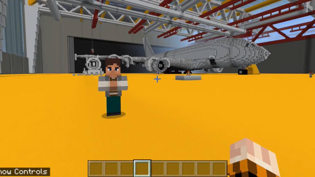 Skills Miner Aerospace Lesson 1 Construct an Aeroplane